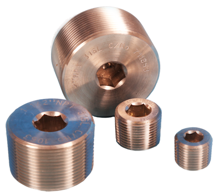 Stainless Steel Hexagon Allen Key Plugs.