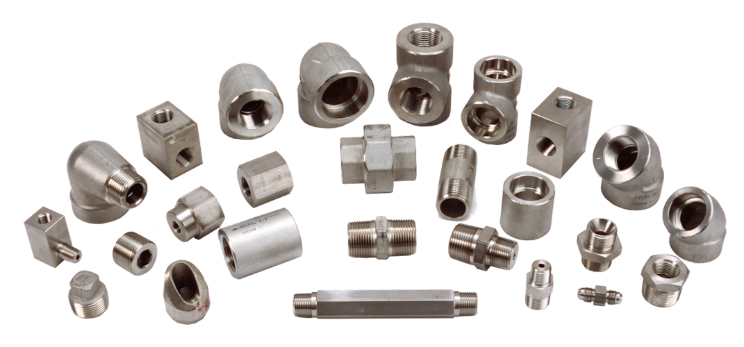 Stainless Steel High Pressure Fittings.