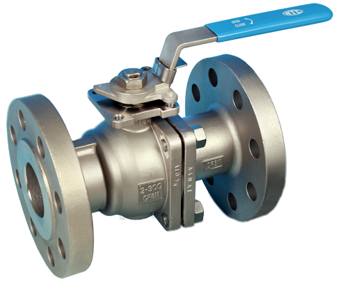 Stainless Steel Flanged Full Bore Actuated Ball Valve ANSI 300lb End Connections