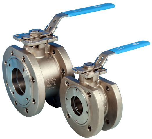 Wafer Pattern Flanged DIN PN16/40 Ball Valve NTC KV-L7K/7N