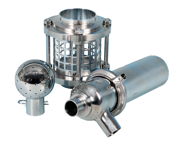 Stainless Steel Miscellaneous Hygienic Valves