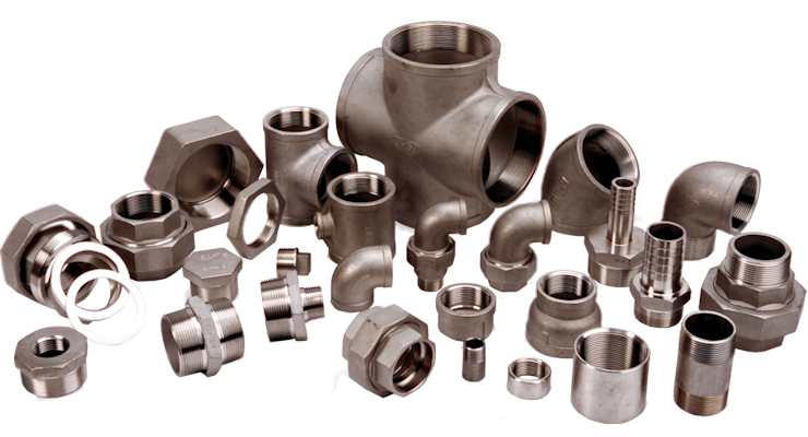 Stainless Steel 150lb Screwed Pipe Fittings