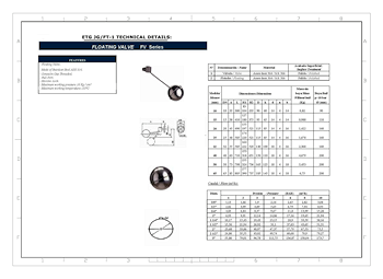 PDF for Ball Float Valve ETG JG/FT-1