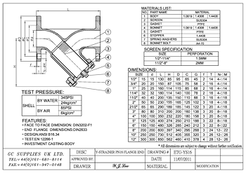 PDF for Flanged Y-Type Strainer
