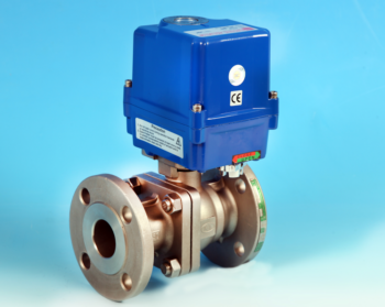 Stainless Steel Electric Actuators Flanged Full Bore Actuated Ball Valve ANSI 150lb End Connections