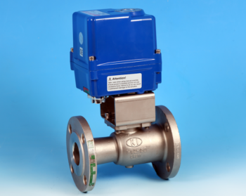 Stainless Steel Electric Actuators Flanged Reduced Bore Actuated Ball Valve Screwed ANSI 150lb End Connections