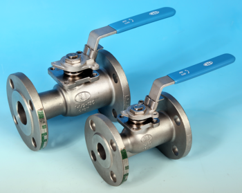 Stainless Steel 1-Pce Reduced Bore Flanged ANSI 150 Ball Valve NTC KV-M1FF