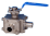 3-Way Sanitary Weld End Direct Mount Ball Valve ETG 3WCF/B-L (L-Port) ETG 3WCF/B-T (T-Port)