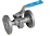 2-Pce Full Bore Flanged ANSI 300 Ball Valve NTC KV-062