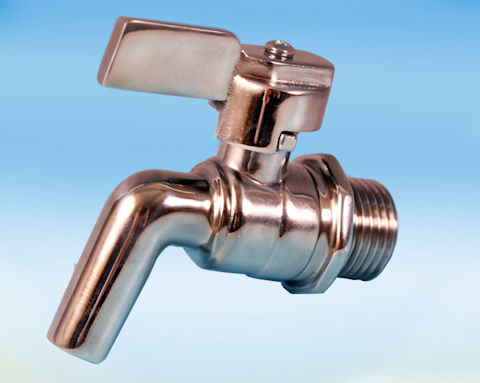 Stainless Steel Drain Tap