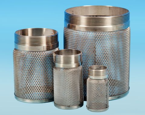 stainless steel BSP Screwed Suction Basket Filter