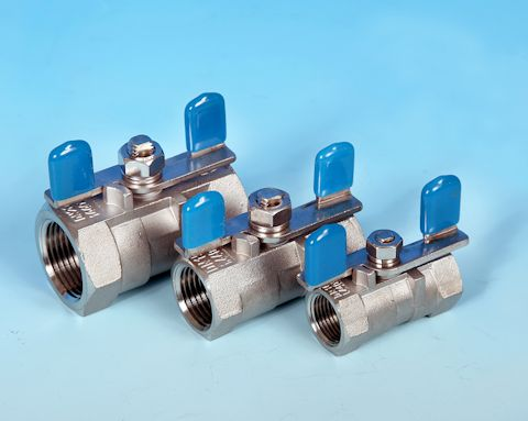 Reduced Bore T-Handle Ball Valve