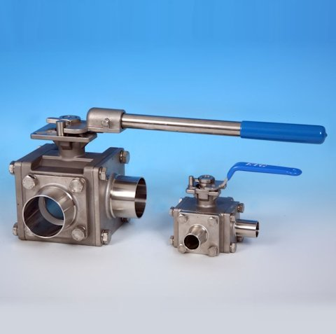 stainless steel hygienic valves